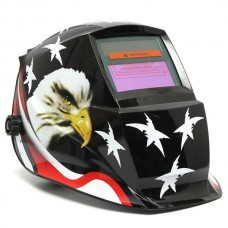 Eagle Stars Auto Darkening Welding Solar Welder Mask Helmet Electric Welding  TIG MIG Welder Lens Mask Black