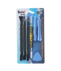 Kaisi KS-X1468 8 in 1 Opening Tools Kit For Phone Tablet Screen Replacement Repair Pry Bar Set