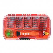 AC - 101 29 in 1 Multifunctional Screwdriver Bit Tools Kit for Disassembling iPhone Android Phone PC