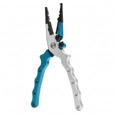 H3 Fishing Pliers Crimping Remove Hook Scissors with Sheath Split Ring Cutters Fish Line Cutters